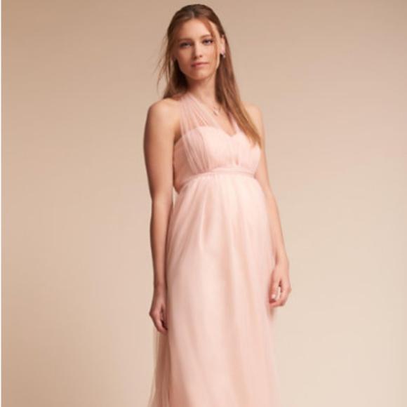 cfa8ca821d5 Jenny Yoo Dresses   Skirts - Jenny Yoo Serafina Maternity Dress in Blush